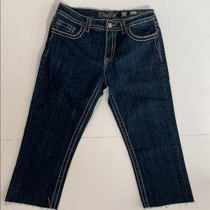 Miss me womens Capri jeans size 28